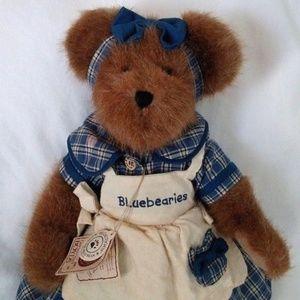 Muffin B. Bluebeary Boyds Bear Plush